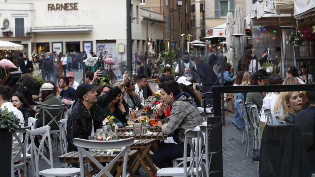 Mesures sanitaires en Italie: à Rome, un parfum de «dolce vita» fait son retour