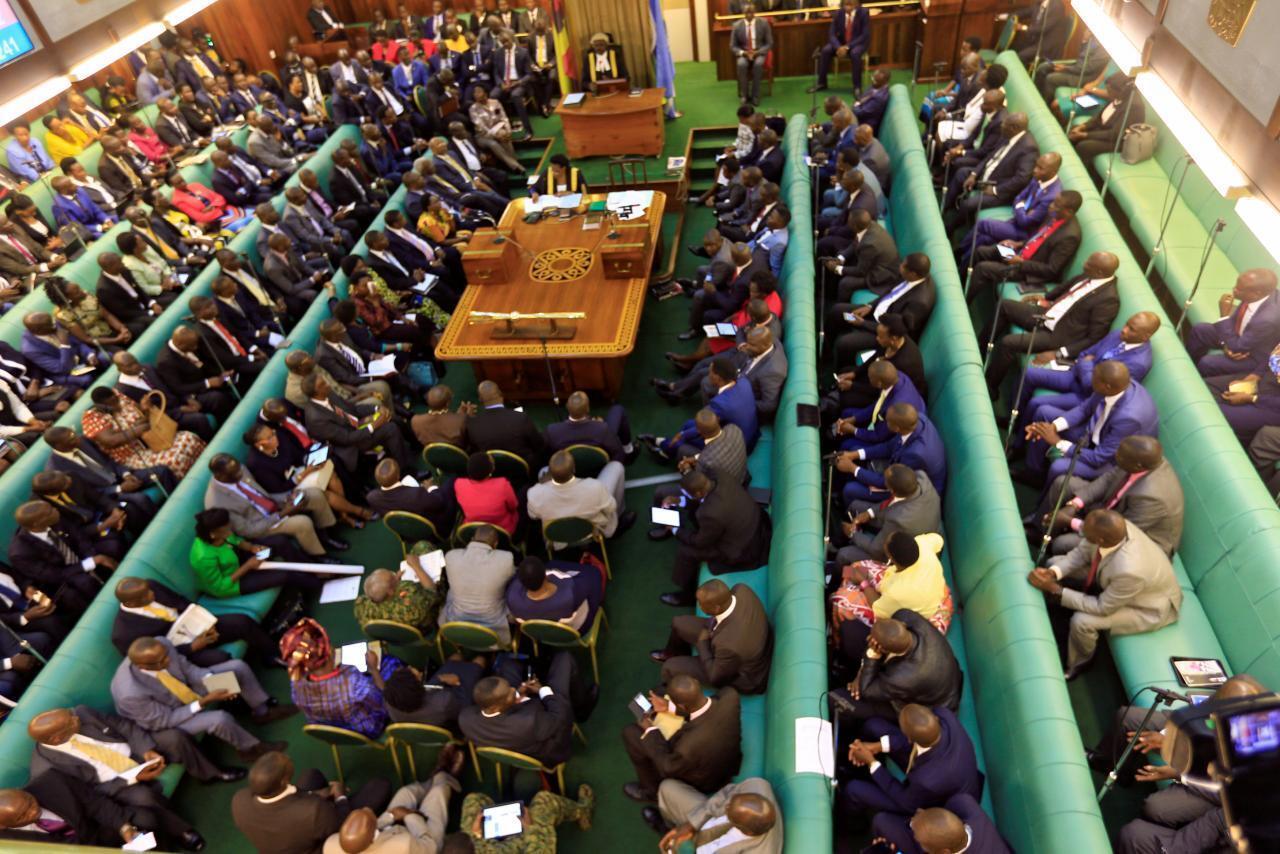 Wabunge wa Uganda wakiwa katika kikao huko Kampala.
