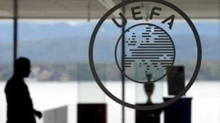 Tambarin hukumar kwallon kafa ta nahiyar Turai UEFA, a hedikwatar ta dake birnin Nyon, a kasar Switzerland.