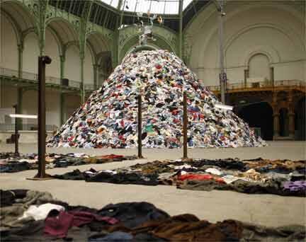چیدمان بولتانسکی در گراند پاله پاریس