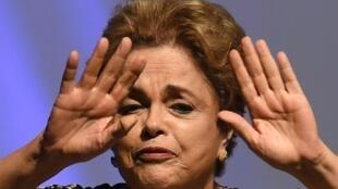 Rais wa Brazil Dilma Rousseff, Mei 10, 2016 Brasilia.