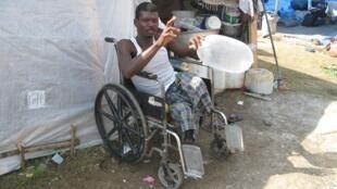 Cliché pris durant le reportage de Stefanie Schüler sur les handicapés en Haïti.