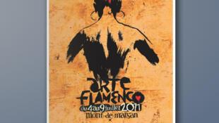 L'affiche de la 23e édition du Festival Arte Flamenco.