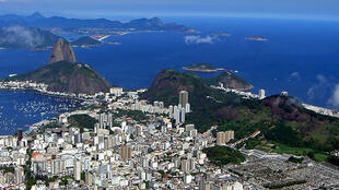 Le Brésil, ici une vue de Rio de Janeiro, est devenu la sixième puissance mondiale, le 27 décembre 2011.