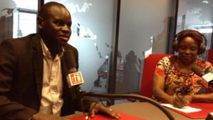 Thiambel Guimbayara et Corinne Mandjou.