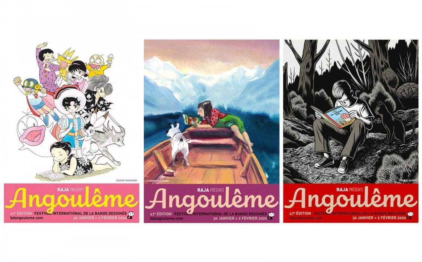 2020年1月30至2月2日第47届法国安古兰漫画节海报。