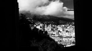 Une vue de Bastia, en Corse.