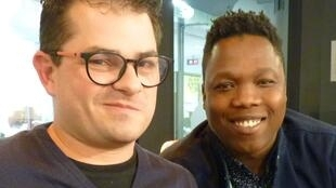 """Jaime Andrés Salazar y """"La Wey"""" en los estudios de RFI"""