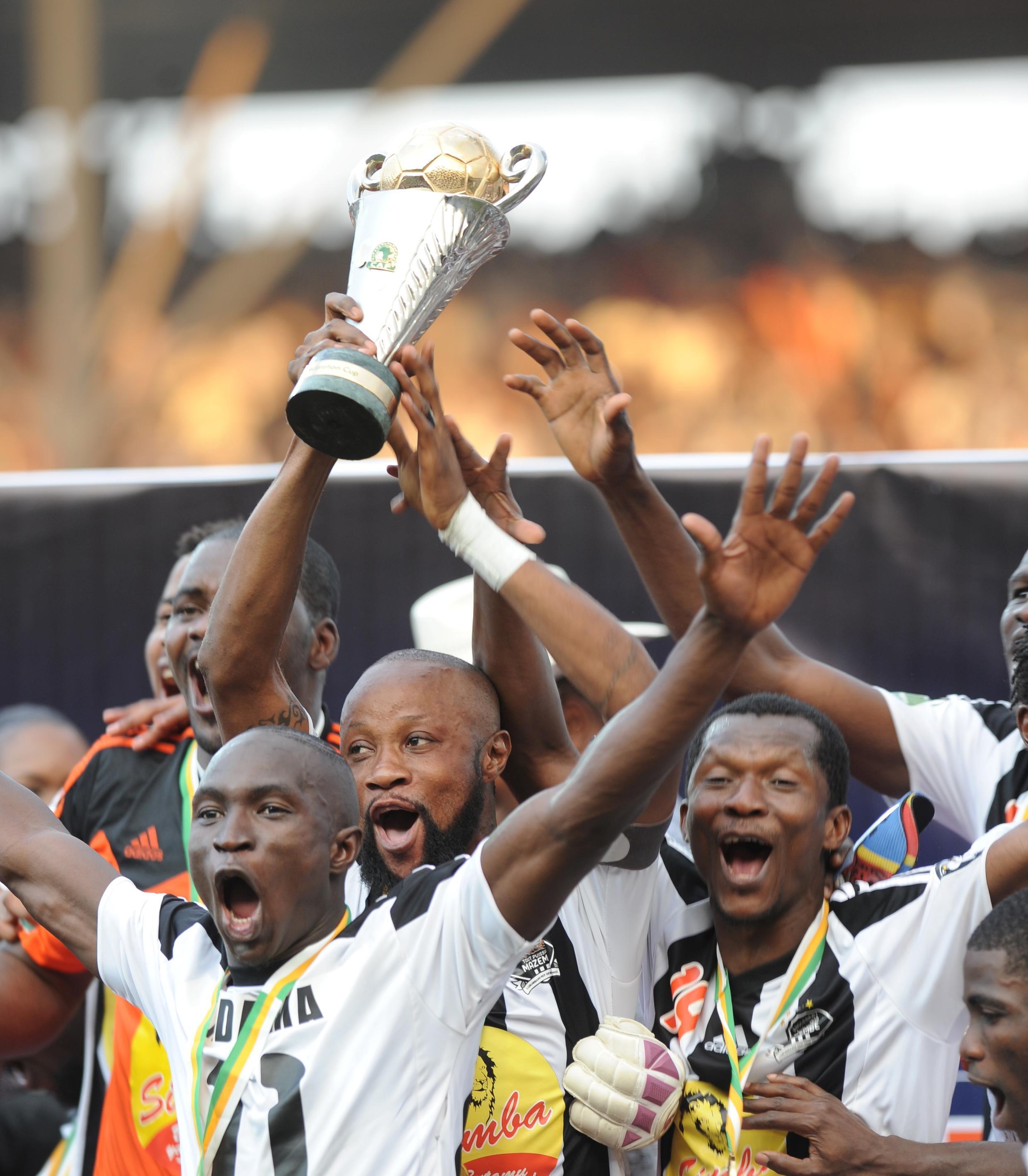 TP Mazembe inaongoza ligi kuu ya DRC kwa alama 40.