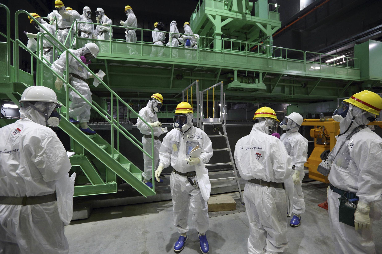A central de Fukushima irá gerar até 2027 mais de 560.000 metros cúbicos de resíduos radioativos.