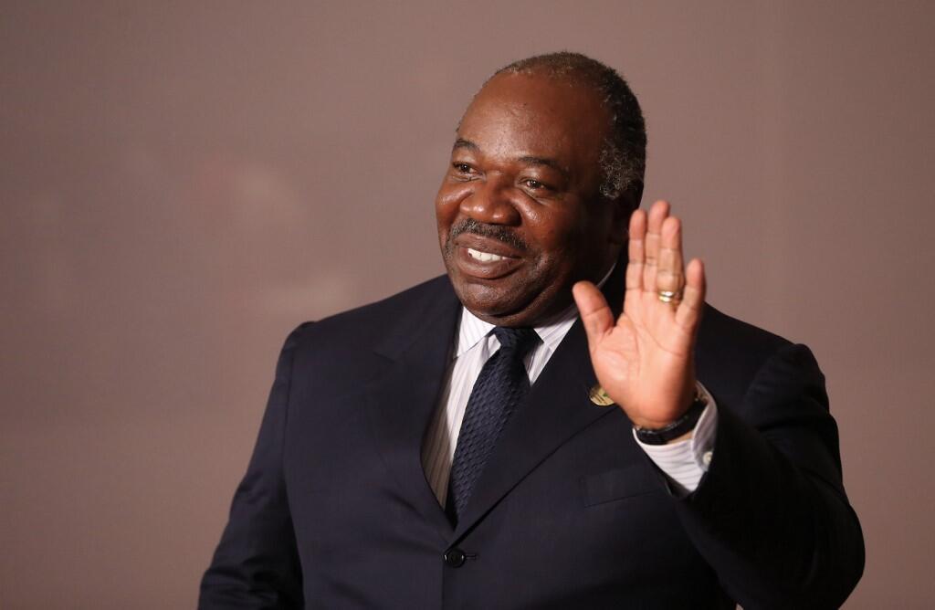 Le président gabonais, Ali Bongo