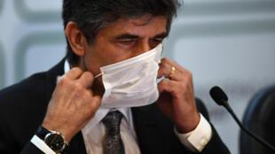 Nelson Teich, exministro de Salud brasileño