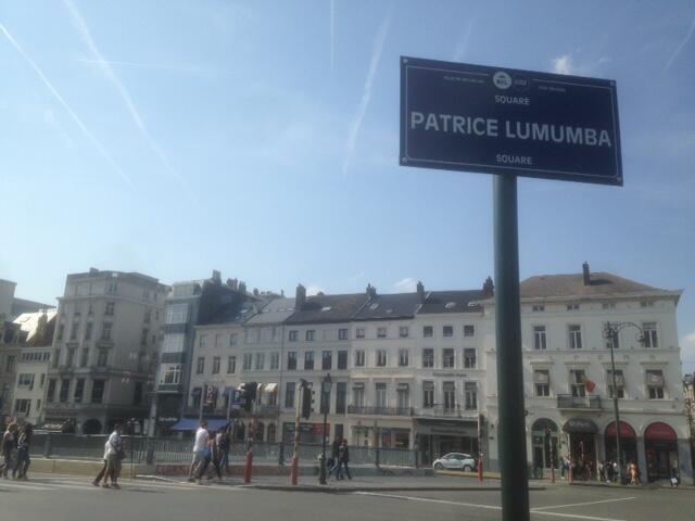 Le square Lumumba a été inauguré Porte de Namur le 30 juin 2018.