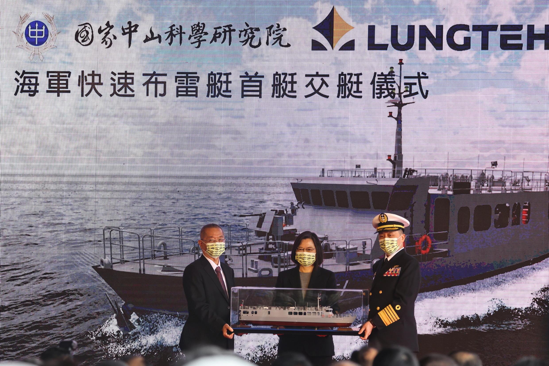 taiwan - défense - corvette tuo chiang - tsai ing wen 2020-12-15T043359Z_132419616_RC2GNK98ZW5C_RTRMADP_3_TAIWAN-SECURITY