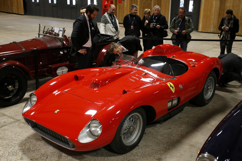 «Звезда» салона Ferrari 335 Sport Scaglietti 1957