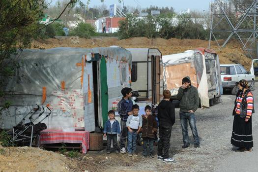 Rom encampment