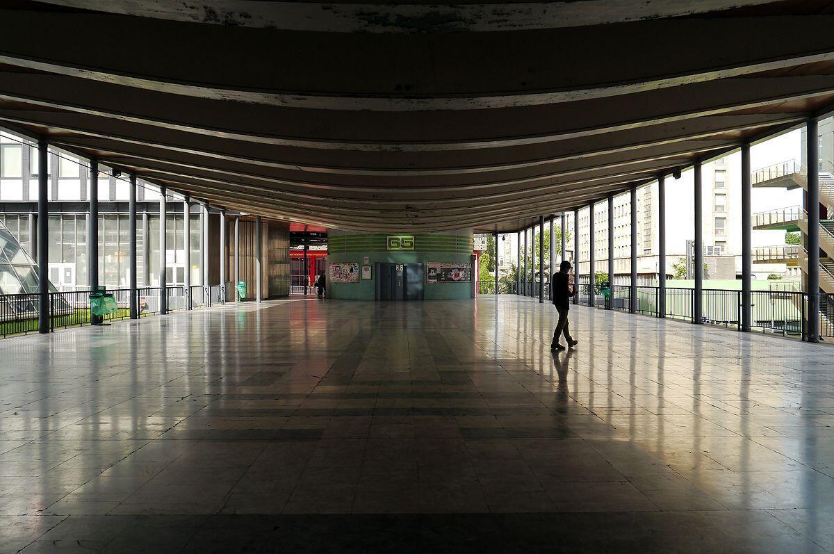 Campus universitaire de Jussieu.