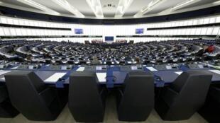 Nghị viện châu Âu ở Strasbourg, Pháp.
