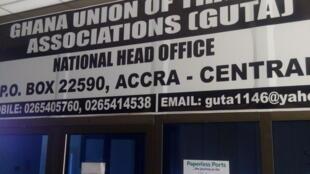 Cibiyar kungiyar yan kasuwar Ghana ta Ghuta a Ghana