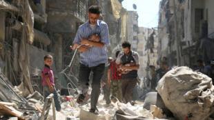 Shambullizi la awali la silaha za kemikali mjini Homs nchini Syria