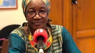 Pr Rokia Sanogo, cheffe du département de médecine traditionnelle de l'Institut National de Recherche de la Santé Publique de Bamako au Mali