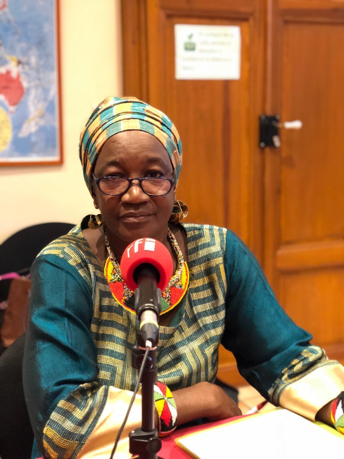 Pr Rokia Sanogo, cheffe du département de Médecine traditionnelle de l'Institut National de Recherche de la Santé Publique de Bamako au Mali.