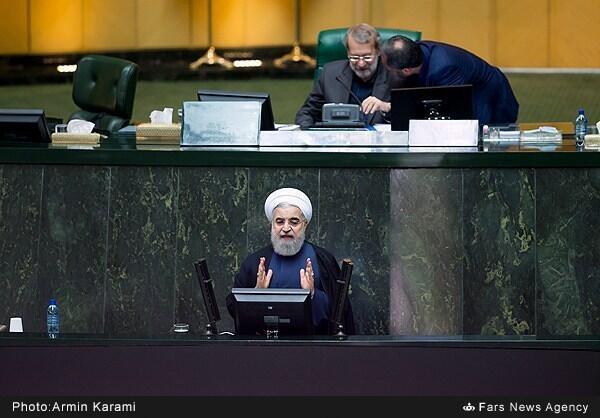 حسن روحانی در مجلس شورا از سه وزیر پیشنهادی خود دفاع کرد