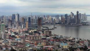 Une vue générale de Panama city.