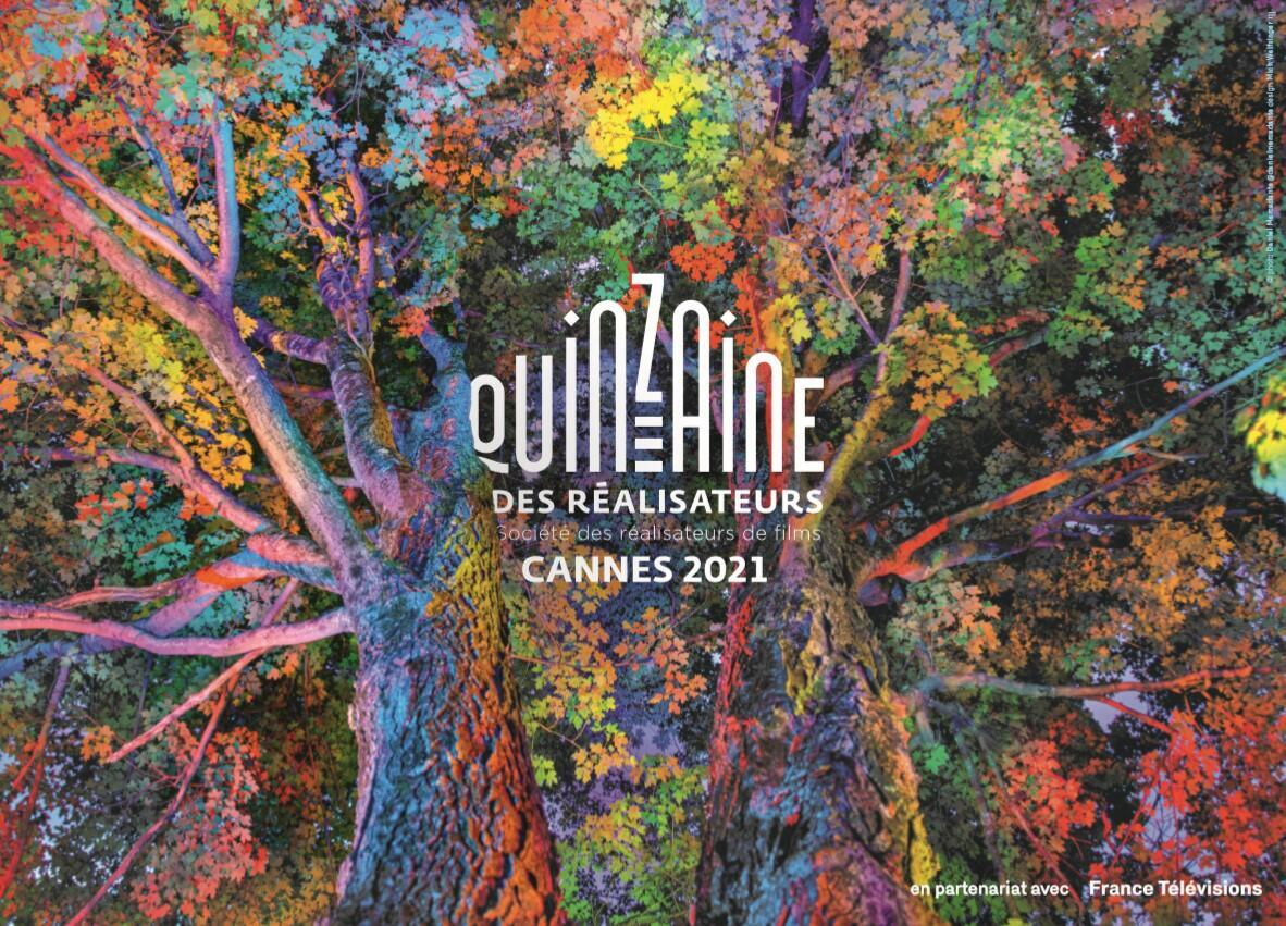 """Poster design by photographer and filmmaker Daniel Mercadante, is part of his series """"The Enchanted Forest"""", chosen for the Directors' Fortnight (Quinzaine des Réalisateurs) at Cannes Film Festival, 2021."""