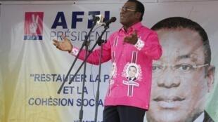 Pascal Affi  N'guessan ,porta-voz da oposição  da Costa do Marfim