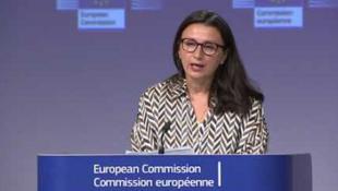歐盟外交事務及安全政策發言人馬斯拉里資料圖片