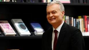 Новоизбранный президент Литвы Гитанас Науседа. 27 мая 2019 г.