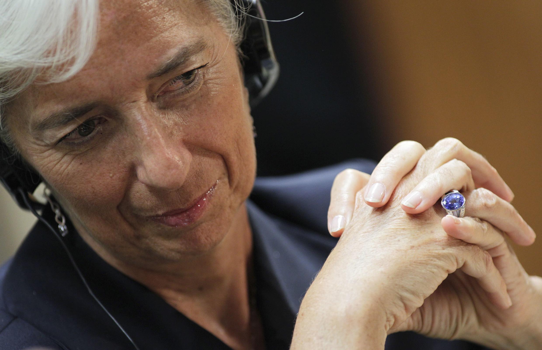 Christine Lagarde, la ministre française des finances