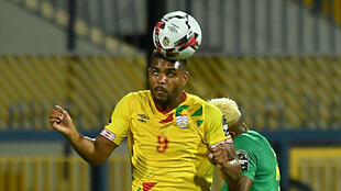 Steve Mounié was one of five players from Benin who were told by Sierra Leonean officials that they had coronavirus and could not play in the Africa Cup of Nations qualifier between the two countries.