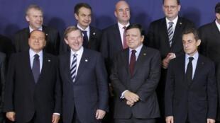 27個歐盟成員國國家元首出席布魯塞爾峰會 2011 10 23