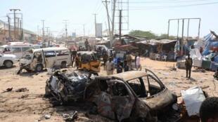 Un attentat à la voiture piégée a fait 89 morts à Mogadiscio, Somalie, le 28 décembre 2019.