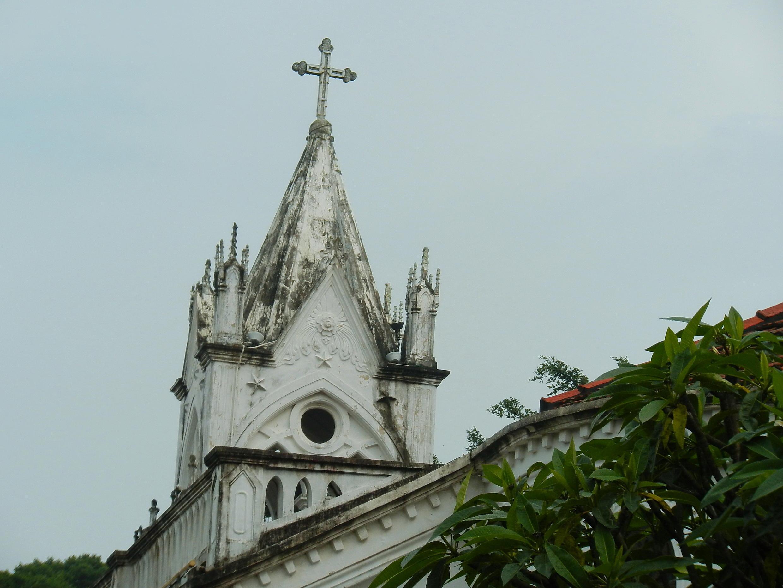 Một nhà thờ ở Trung Quốc. Ảnh minh họa.