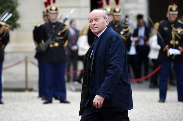 Le Défenseur des droits Jacques Toubon, photographié à l'Elysée le 14 mai 2017 lors de l'investiture du président Macron.
