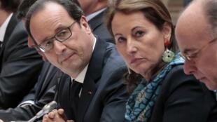 Ministra francesa da Ecologia, Segolène Royal, defende criação da Agência Francesa de Biodiversidade, na Assembleia Nacional..