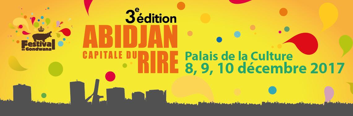 Le Festival Abidjan, capitale du rire, se tient jusqu'au 10 décembre.