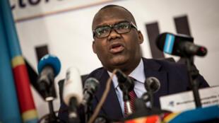 Le président de la Céni, la Commission électorale de RDC, Corneille Nangaa.