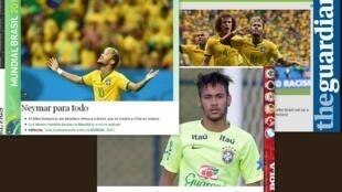 Performance de Neymar é destaque na imprensa europeia.