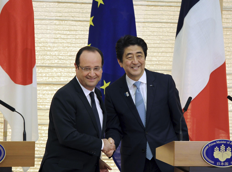 François Hollande azindua Ijumaa ushirikiano wa kipekee na Japan, Tokyo.
