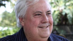 Nhà tỷ phú kiêm dân biểu Úc Clive Palmer - Reuters /Jim Reagan