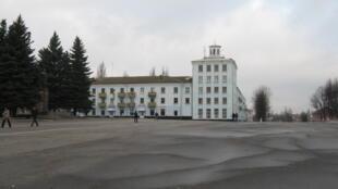 Здание городской администрации города Новозыбков Брянской области России
