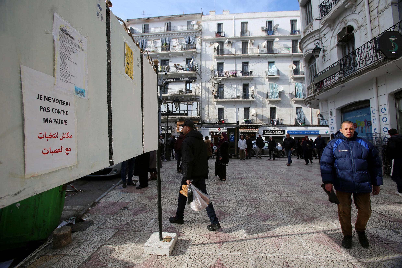 La campagne électorale pour la présidentielle algérienne a suscité peu d'engouement (illustration).
