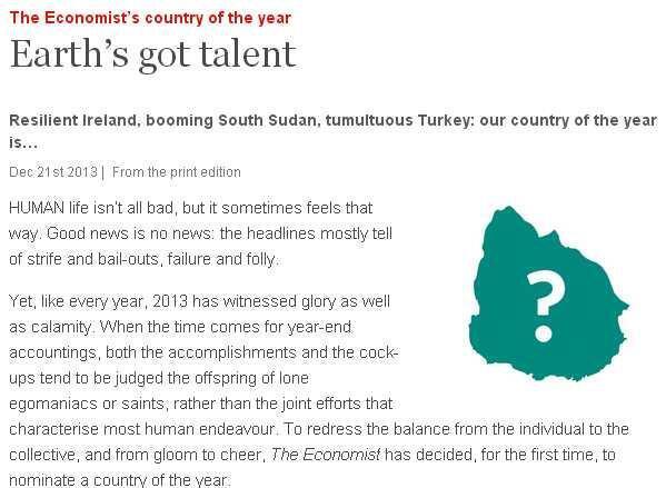 Detalle de captura de pantalla del artículo de The Economist.