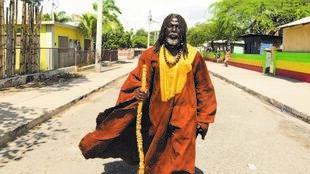 Le chanteur de Reggae Tiken Jah Fakoly.