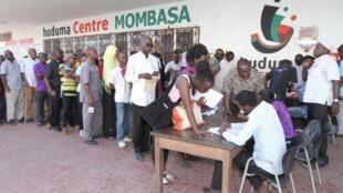 "Kenyans registerfor ""single source of truth data base"