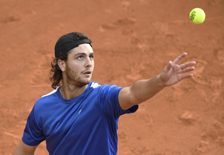 El argentino Marco Trungelliti en Roland Garros.